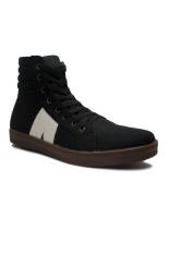 D Island Shoes Sneakers High Arl New Reborn Comfort Black D Island Diskon 50