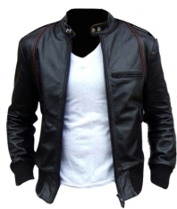 Dimana Beli D1Ny Collection Jaket Kulit Sk24 Hitam D1Ny Collection