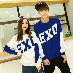 D'COUPLE Kaos Couple EXO Benhur Putih  Baju Pasangan  Kaos Pasangan  T-SHIRT