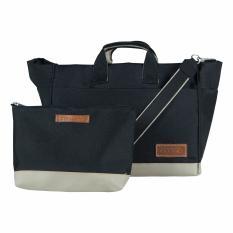 Beli D Renbellony Handbag Organizer Jeddy Black Online Terpercaya