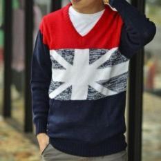 Daffa  Fashion England League Tribal - Sweater Rajut Pria - Rajut Tribal