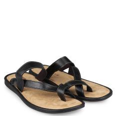 daimatu  Men Shoes Flip Flops & Sandals Flip Flops  Pria Sepatu Flip Flops & Sandal Flip Flops Dark Brown Coklat gelap Diskon discount murah bazaar baju celana fashion brand branded