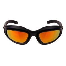 Daisy C5 Kacamata Tentara Militer Taktis Kacamata Surya 4 Lensa Kit Gurun Glasse-Intl