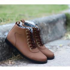 DALMO BRODO Sepatu Pria Boots Original