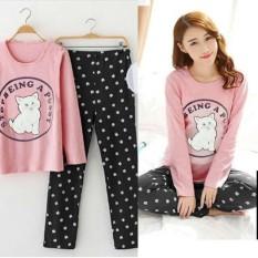 Damai Fashion - piyama tidur Junny cat - konveksi