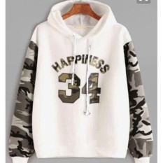 Damai - jaket sweater happiness 34 army hoody - konveksi