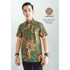 Danar Hadi Casual Batik Reguler Fit 0705 Hijau