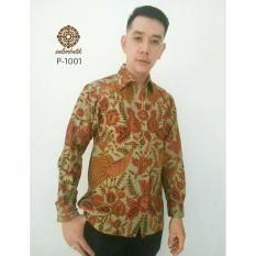Danar Hadi Kemeja Batik Reguler Fit 1001 Hijau