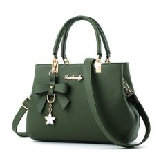Promo Danbaoly Elegant Romance Handbag Green Murah