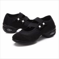 Tari Sepatu untuk Girls Nyaman Bernapas Lembut Outsole Nafas Wanita Latihan Sepatu Modern Jazz Dance Sepatu