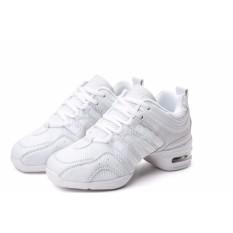 Menari Sepatu Olahraga Moderen Menari Jazz Sepatu Lembut Outsole Nafas Sepatu Tari Sneakers untuk Wanita Latihan Sepatu-Internasional