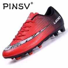 Harga Danji Luar Ruangan Sepatu Pria Sepatu Sepak Bola Sepatu Sepak Bola Sepatu Berduri Merah Dan Spesifikasinya