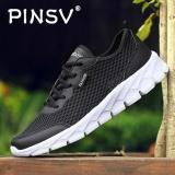 Spesifikasi Danji Pria Bernapas Kasual Sepatu Lari Hitam Intl Online