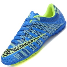 Harga Hemat Danji Men S Outdoor Sepak Bola Boots Turf Indoor Sepak Bola Futsal Shoes Biru Intl
