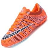 Jual Danji Men S Outdoor Sepak Bola Boots Turf Indoor Sepak Bola Futsal Sepatu Oranye Intl Danji Murah