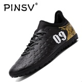 Diskon Besardanji Pria Outdoor Sepak Bola Sepatu Turf Indoor Sepak Bola Futsal Shoes Hitam Intl