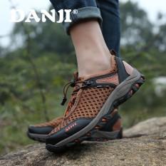 Panas Baru Kualitas Tinggi Mesh Source · DanJi Sepatu Hiking Pria Untuk Pria  . 15c0c7fbac