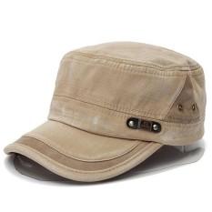 Dapat Disesuaikan Kilas Balik Pria Wanita Army Plain Hat Bisbol Cadet Militer Olahraga Topi-Internasional