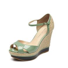 Review Daphne Baru Anyaman Sandal Summer Hijau Muda 151 Sepatu Wanita Sendal Wanita Oem