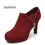 Jual Daphne Batu Kristal Air Hak Super Tinggi Tahan Air Taiwan Lulur Sepatu Wanita Ungu Grosir