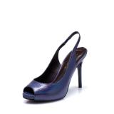 Diskon Daphne Eropa Dan Amerika Putaran Musim Semi Dan Musim Panas Sandal Bertumit Tinggi Biru Tua 161 Sepatu Wanita Sendal Wanita