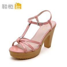 Obral Daphne Lemari Sepatu Tebal Dengan Perempuan Sandal Summer 125 Bedak Warna Jingga Murah
