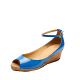Spesifikasi Daphne Manis Perempuan Horizontal Jenis Mulut Ikan Sepatu Musim Semi Sepatu Biru 114 Yang Bagus