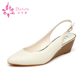 Jual Daphne Perempuan Belakang Berongga Model T Sepatu Hak Perempuan Sepatu 190 Off White Sepatu Wanita Flat Shoes Ori