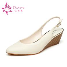 Jual Daphne Perempuan Belakang Berongga Model T Sepatu Hak Perempuan Sepatu 190 Off White Sepatu Wanita Flat Shoes Original