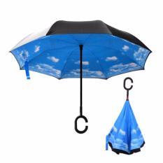 Toko Dapurbunda Pyg Payung Kazbrella Motif Payung Terbalik Gagang C Reverse Umbrella Motif I Termurah Indonesia