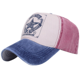 Diskon Besarbiru Tua Coklat Unisex Topi Baseball Sepeda Motor Kapas Topi Santai Pria Wanita Musim Panas