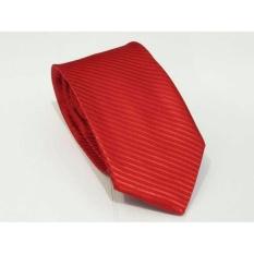 Dasi Kantor - Dasi Import - Dasi Kerja Merah Tua - Slim TieIDR35000. Rp 37.000