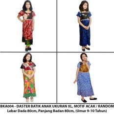 Daster Anak Batik, Baju Tidur Anak, Piyama Anak, Ukuran XL Usia 9-10 Tahun (BKA004) Batikalhadi Online
