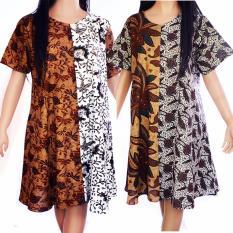 Harga Daster Batik Baju Tidur Katun Baju Santai Sogan D39 Asli
