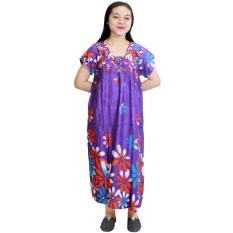 Daster Batik, Daster Lengan Pendek, Baju Tidur, Piyama, Kancing, Daster Bumil, Daster Busui (DPT001-59)