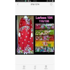 Daster Batik Panjang / Long Dress / Baju Muslim / Baju Hamil - A95rcb