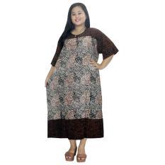 Jual Daster Lengan Pendek Jumbo Batik Cap Halus Pekalongan Baju Tidur Piyama Kancing Daster Bumil Busui Rdt003 12 Batik Alhadi