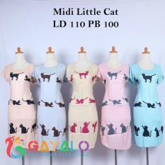 BUY 1 GET 5 DASTER MIDI LITTLE CAT/DASTER HAMIL/DASTER RAYON/DASTER PENDEK/DASTER