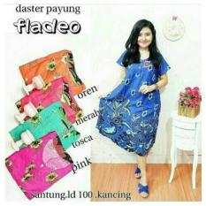 Daster Payung Fladeo Dress Gaun Batik Baju Hamil Busui Kado Cantik Set