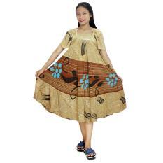 Daster Payung, Klok Batik, Baju Tidur, Piyama, Leher O (DPT005-38)