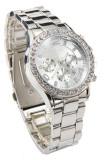 Harga Tanggal Jam Tangan Kristal Kuarsa Mewah Wanita Wanita Perhiasan Perak Branded