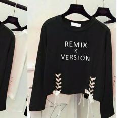 davecollection - blouse remix - black
