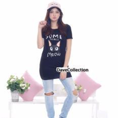 DaveCollection - Dress Meow Something - Black
