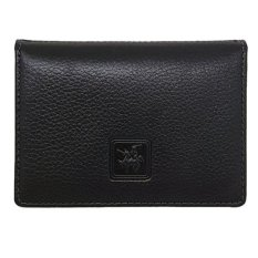 Jual David Jones International Dompet Kartu Card Holder Kulit Pria Kulit Asli 1143 Hitam Branded Original