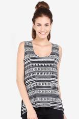 Dazzle And Angel Triball Ss Black Women Tanktop Diskon discount murah bazaar baju celana fashion brand branded
