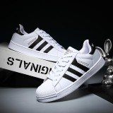 Dd Men Women Fashion Sport Shoes Couple Outdoor Casual Sneaker All Match White Canvas Shoes Intl Promo Beli 1 Gratis 1