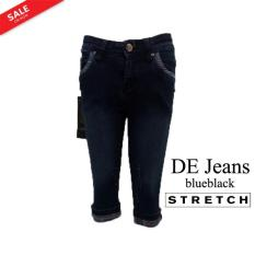 Harga De Jeans Celana Jeans Pendek Wanita 7 8 Sobek Sobek Ripped Jeans Model Lipat Bawah Size 27 Dan 28 Bahan Jeans Stretch Melar Merk De