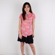 De Voile Atasan Batik Wanita Chalipa Side Btn (Pink)
