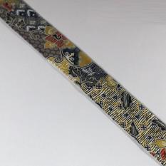 De'Fabric - Syal/Scarf/Twilly Strips Tulip Batik