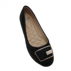 Toko Dea Flat Shoes 050 3 Hitam Terlengkap